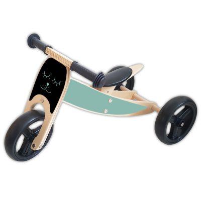houten-loopfiets-2-in-1-beestje-groen