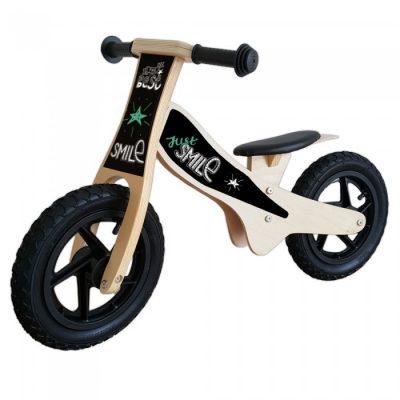 houten loopfiets-smile-groen