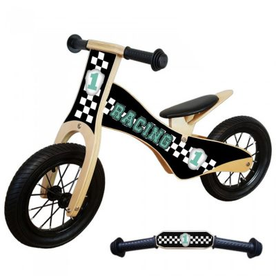 loopfiets-deluxe-racing-groen
