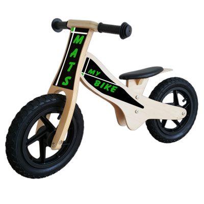 loopfiets-standaard-bruin-my-bike-groen
