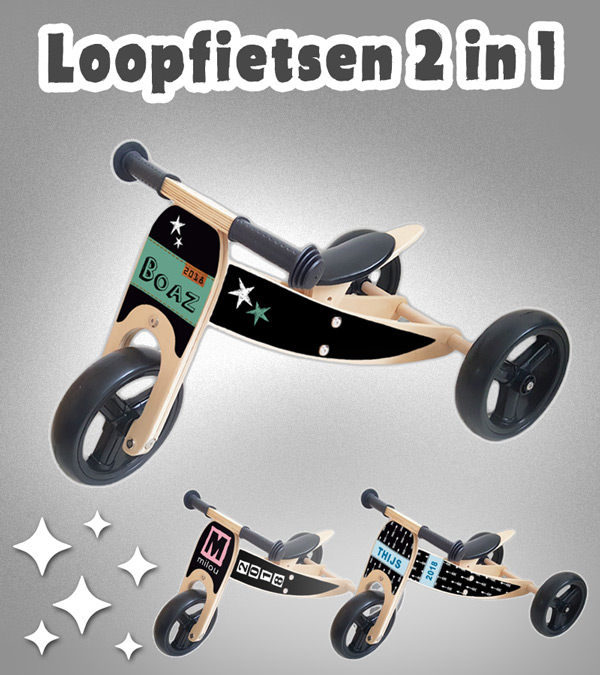 loopfiets-2-in-1